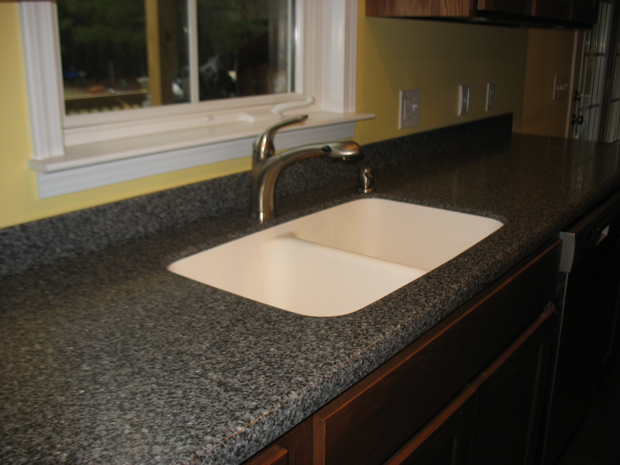Countertops coy 39 s woodworking Solid surface counters